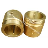 China Customized Self-lubricating Bronze Bushing Thin Wall Bearing Sleeve Type wholesale