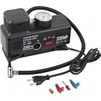 China Changeable Current Handy Portable car tire air compressor Plastic Black wholesale