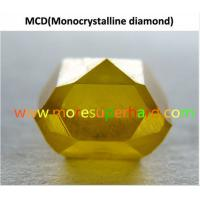 China Single Crystal Synthetic Diamond wholesale
