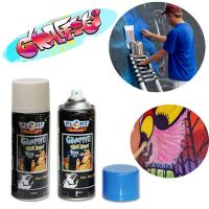 China Fading Resistant Aerosol 500ml Graffiti Artist Spray Paint Enviromental Friendly wholesale