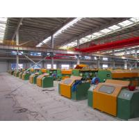 Quality 5.0mm - 12.0mm Welding Wire Forming Machine , Ribbed Steel Wire Wire Processing Machine for sale