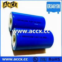 China Primary Lithium/ER Battery with 3.6V Voltage and 19Ah Capacity er34615 wholesale