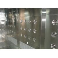 China Customized Air Shower Tunnel With Automatic Sliding Door And PLC Control System wholesale
