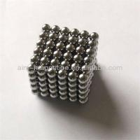 China D5mm Neocube Neodymium Magnet Balls wholesale