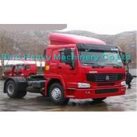China 290HP Manual Prime Mover Truck , SINOTRUK Howo 4X2 Tractor , Color Can Be Selected wholesale