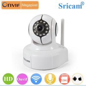 China Sricam SP011 Alarm IP Camera With Motion Sensor Wifi Camera Alarm wireless door camera wholesale