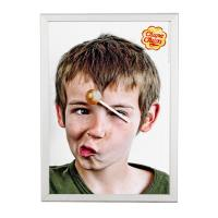 China Advertising Snap Poster Frames Mitred Corner 20 Mm Aluminum Material wholesale