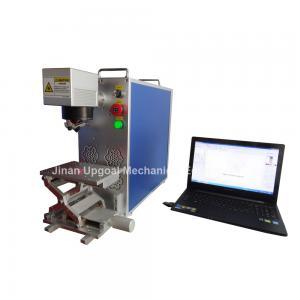 China Portable Fiber Laser Marking Machine for Metal Materials Marking wholesale