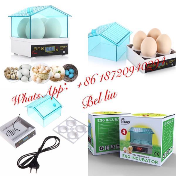 Hot sale full automatic high hatching rate egg incubator 4 mini incubator