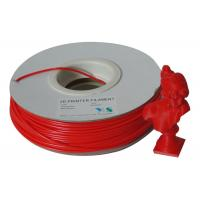 China Compatible 3.0mm ABS 3D Printer Filament Materials For 3D Printers , Red wholesale