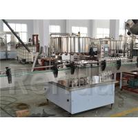 China Automatic Water Bottle Filling Machine for Mineral Water / Beverage 5.2KW Power wholesale