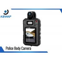 1080P Security Body Camera Recorder , Body Worn Police Pocket Video Camera 64GB
