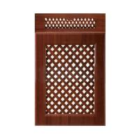 China Kitchen Bathroom Cabinet Doors Wooden Ventilated With Customized Surface wholesale