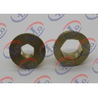 China Precise Turned Metal Parts  Brass Positioning Nuts Fit Electrical Equipments wholesale