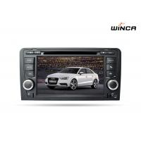 China Audi A3 Wnice 8 Core Double Din Dvd Player Built in 4G GPS Navigation on sale
