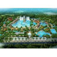 China Amusement Park / Water Theme Park Concept Design Customized Size wholesale