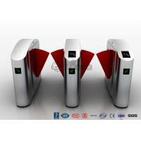 China High Security Turnstile Entry Systems , Waist Height Turnstiles 550mm Passage Width wholesale