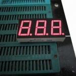 China Three-digit 0.36 Inch 7 Segment LED Display for Temperature Display wholesale