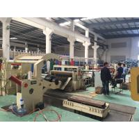 China 0.2-2.5MM Steel Sheet Metal Slitting Machine , Coil Cutting Machine High Speed wholesale