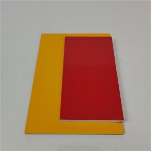 China Wood Grain Aluminum Core Panel Light Weight Fireproof  Customzied wholesale