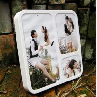 China PF (33) acrylic wall mounted photo frame wholesale