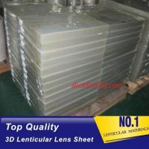 China 3D Lens high density polyurethane foam sheets 25 lpi 4mm thickness lenticular for uv flatbed printer and inkjet print wholesale