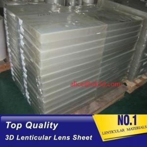 China PS lenticular 30LPI lenticular sheet lens for Inkjet Printing 3D lenticular billboard printing and large size 3d print wholesale