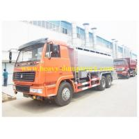 China 371 hp Oil tank truck 30cbm with 6x4 drive 6X4 in Indonesia , oil tank trailers wholesale