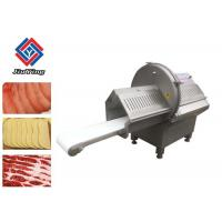 China High Efficiency Frozen Fish Slicer Machine / Automatic Sausage Cutting Equiment wholesale