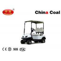Quality Leisure Vehicle Equipment  2 Seater Electric Golf Carfor 1 or 2 Person 2.2kw for sale