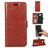 China PU Leather Samsung S8 Plus Wallet Case ,  Precise Vintage Wallet Case Heavy Duty on sale