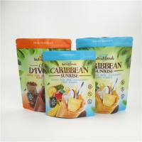 China Ziplock Aluminum Foil Stand Up Pouch Gravure Printing For Dried Fruit Packaging wholesale