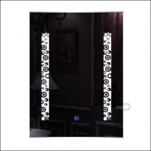 China LED Wall Bathroom Mirror Illuminated Wall Mirror Bathroom Cabinet Mirror With Light on sale