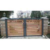 China Aluminium Swing Wireless Bi Folding Gates For Bungalow With Remote Control wholesale