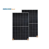 Buy cheap IP68 415W-144M 24KG Portable Half Cell Solar Panel For Home Use from wholesalers