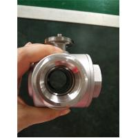 China Quick-Open Electric Ball Valve , Motorized 3 Way Stainless Steel Ball Valve wholesale