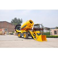 China 1/5 3.5 CBM Self-Propelled Concrete Mixer China Manufacturer wholesale