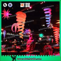 China Banquet Decoration Inflatable Tentacle Customized Event Hanging Decoration wholesale