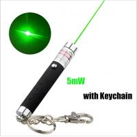 China 5mw Keychain Laser Pointer / Green Laser Keychain With Action Figure wholesale