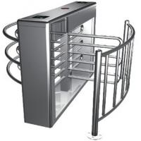 China 0.2s RS485 Stainless Steel Tube Automatic Rotation Full Height Turnstile For Subway wholesale