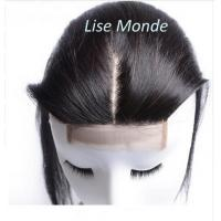 China Lise Monde Brazilian Human Hair 4 x 4 Lace Closue With Baby Hair 10-18 Inch Straight Middle Part Remy Hair Closure wholesale