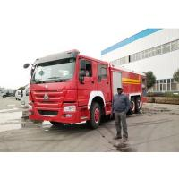 China 16tons Howo 10 wheel Fire Engine 13000Liters Water 3000liters foam Tanker Fire Fighting Truck on sale