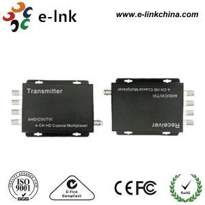 China 2~4 CH CVI / AHD / TVI HD / Coaxial Multiplexer wholesale