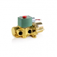 China DC 24V 3 Way 3/2 314 Stainless Steel Solenoid Valve wholesale