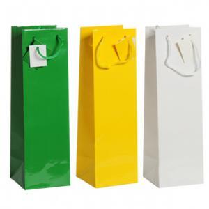 China paper bottle bag wholesale