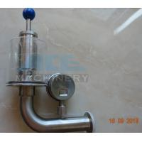 China Brewery Fermenter Tank Stainless Steel Safety Pressure Relief Bunging Valve  Pressure Relief Vacuum Valves wholesale
