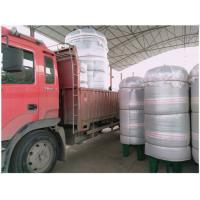 China Vertical Compressed Oxygen Storage Tank 110 Degree Operating Temperature wholesale