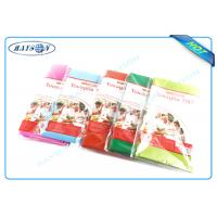 China Multi Colors / Multi Gram / 30-80 Gram Spunbond PP Non Woven Tablecloth / Table Cover wholesale