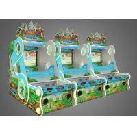 China Touch Screen Fashion Arcade Shooting Machine With Multi Missions wholesale