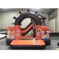 Buy cheap 5.5m Inflatable Pirate Ship Jumping Castle Combo For Adult Kids from wholesalers